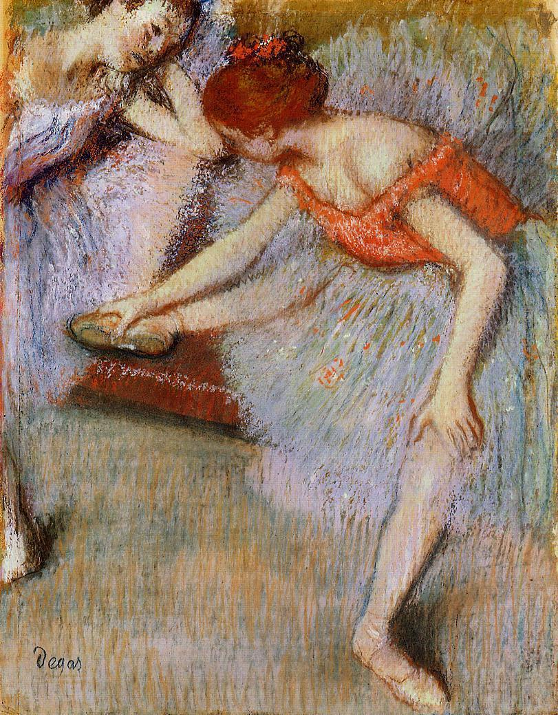 Dancers 1895 | Edgar Degas | Oil Painting