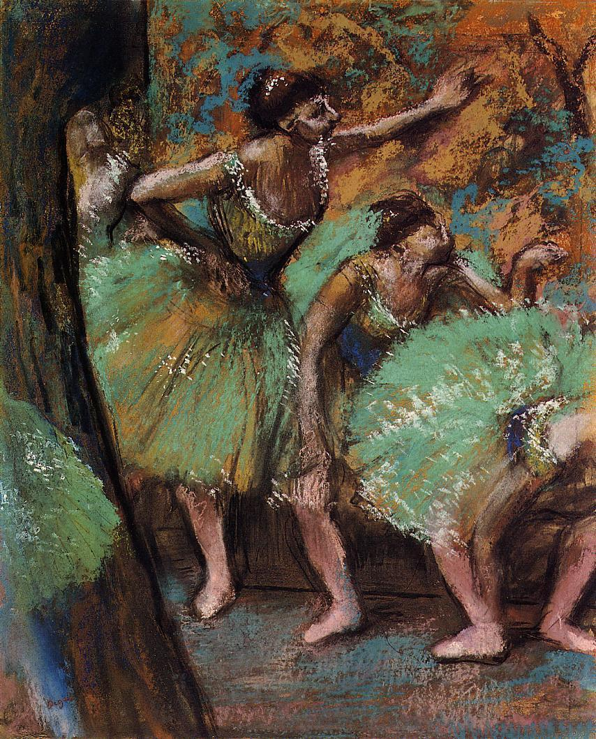 Dancers 1898 | Edgar Degas | Oil Painting