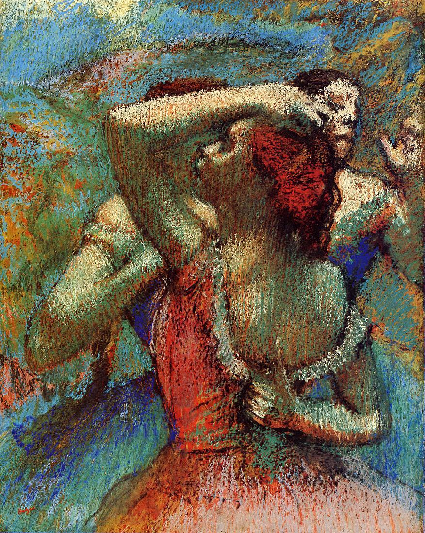 Dancers 1900 | Edgar Degas | Oil Painting