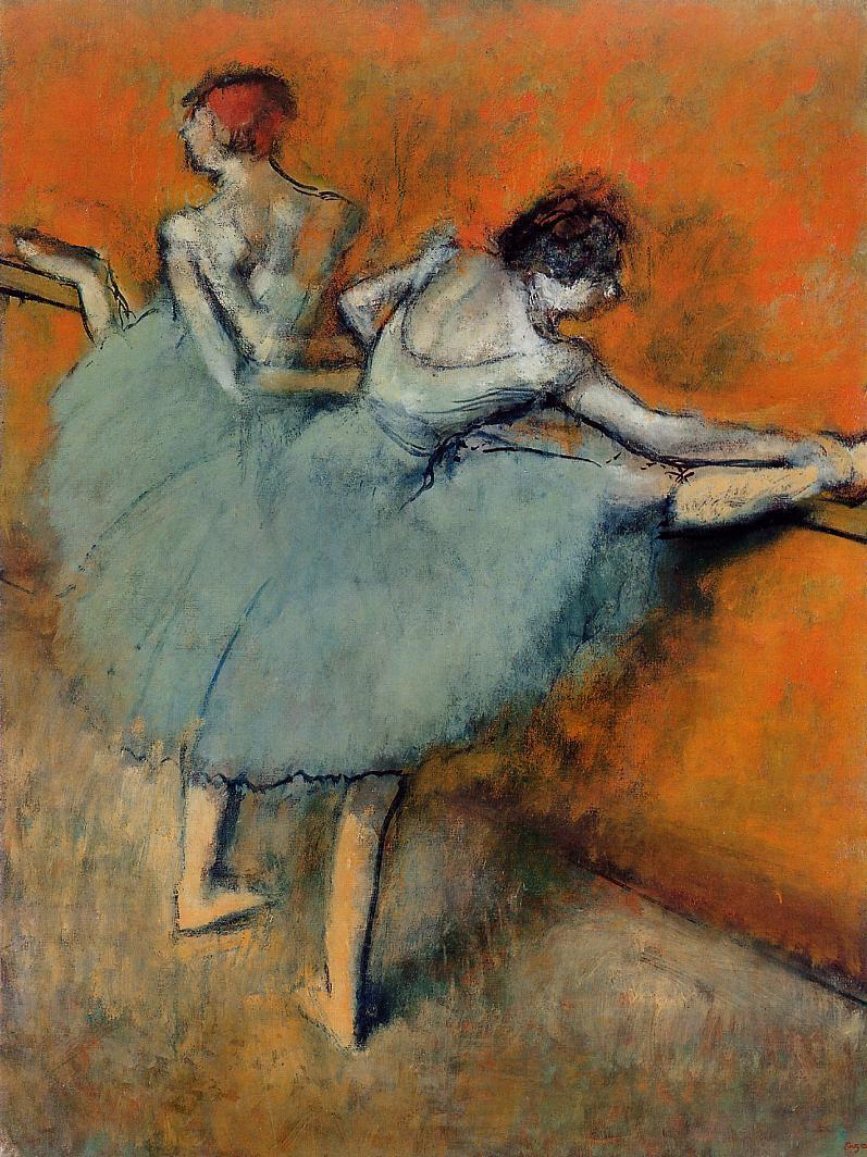 Dancers at the Barre 1900-1905 | Edgar Degas | Oil Painting