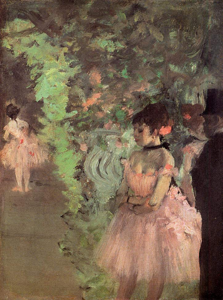 Dancers Backstage 1872 | Edgar Degas | Oil Painting