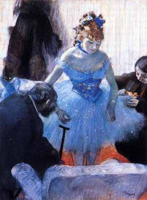 Dancers Dressing Room 1878 | Edgar Degas | Oil Painting