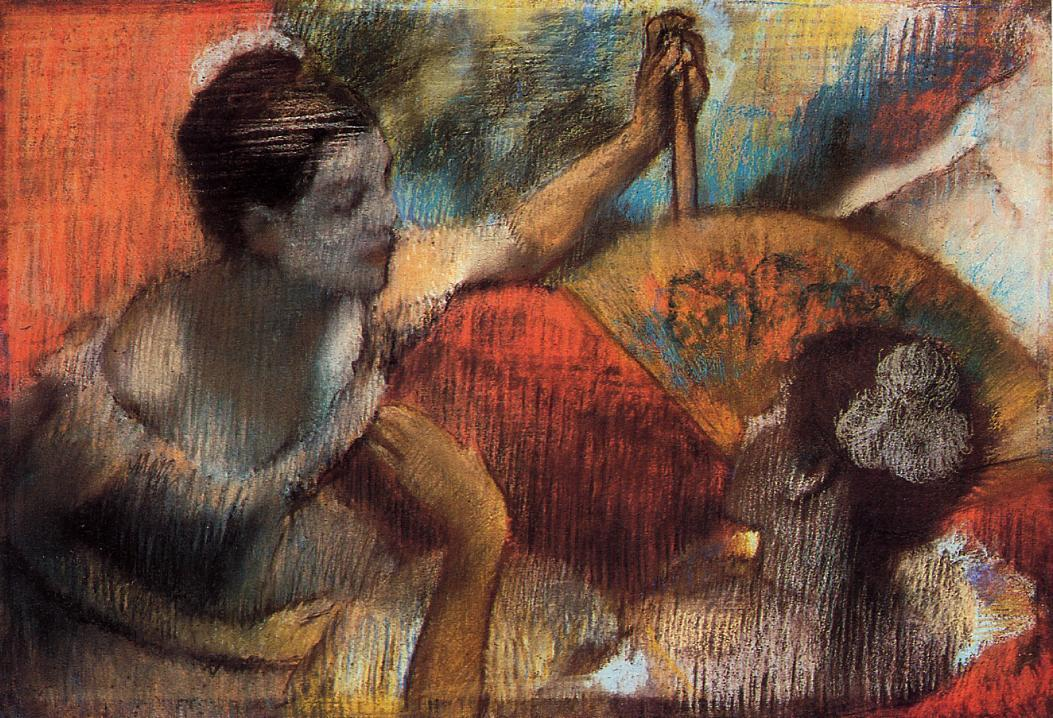 Dancers in a Box 1884 | Edgar Degas | Oil Painting