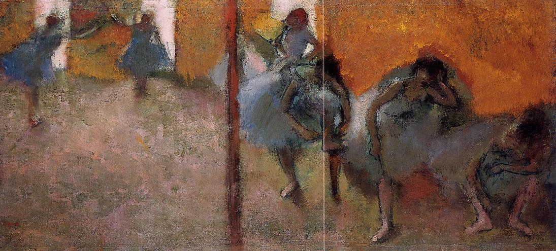 Dancers in a Studio 1900-1905 | Edgar Degas | Oil Painting