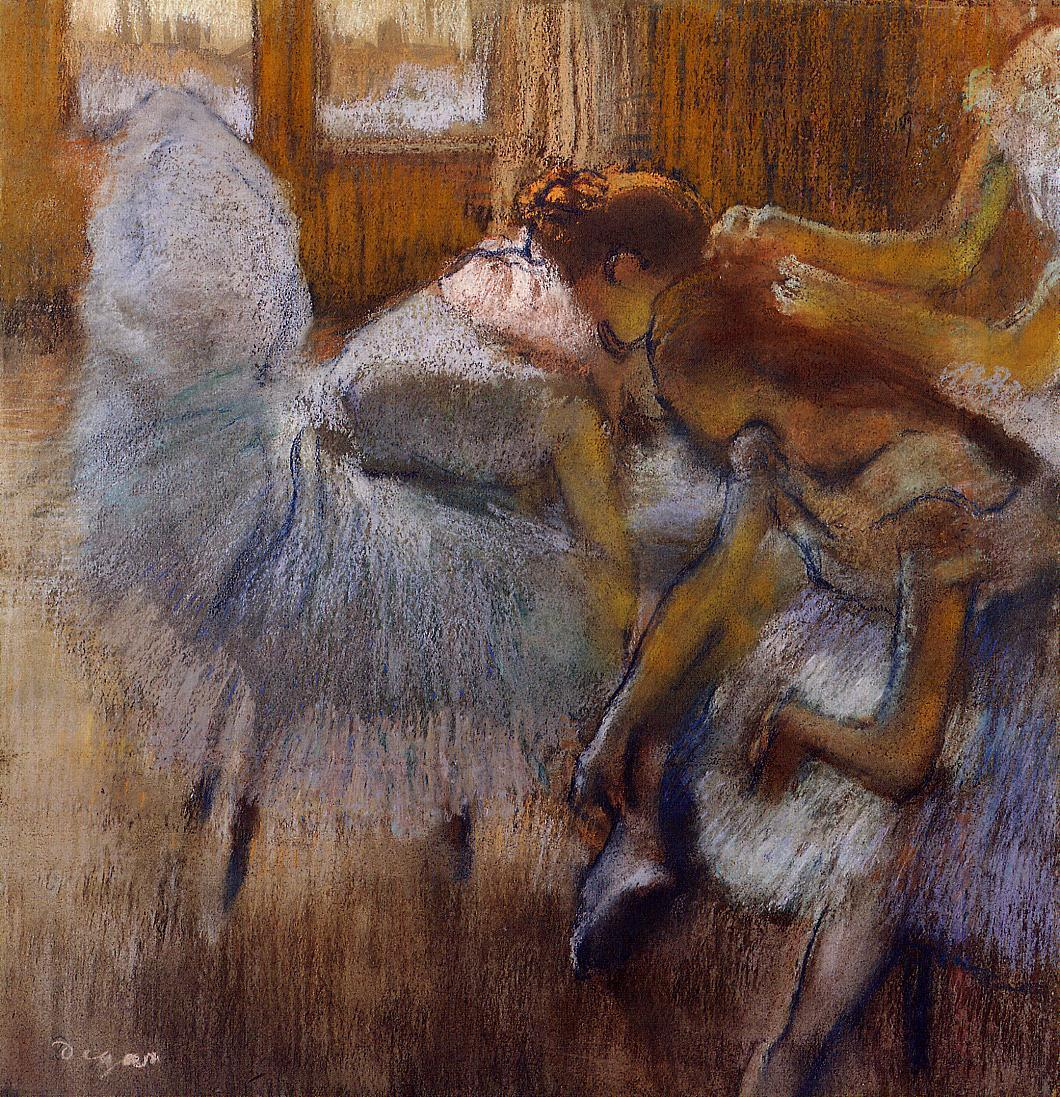 Dancers Relaxing 1885 | Edgar Degas | Oil Painting