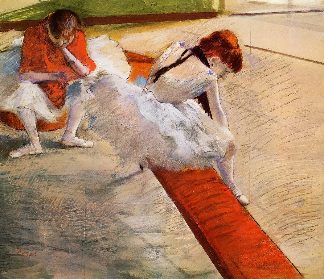 Dancers Resting 1879 | Edgar Degas | Oil Painting