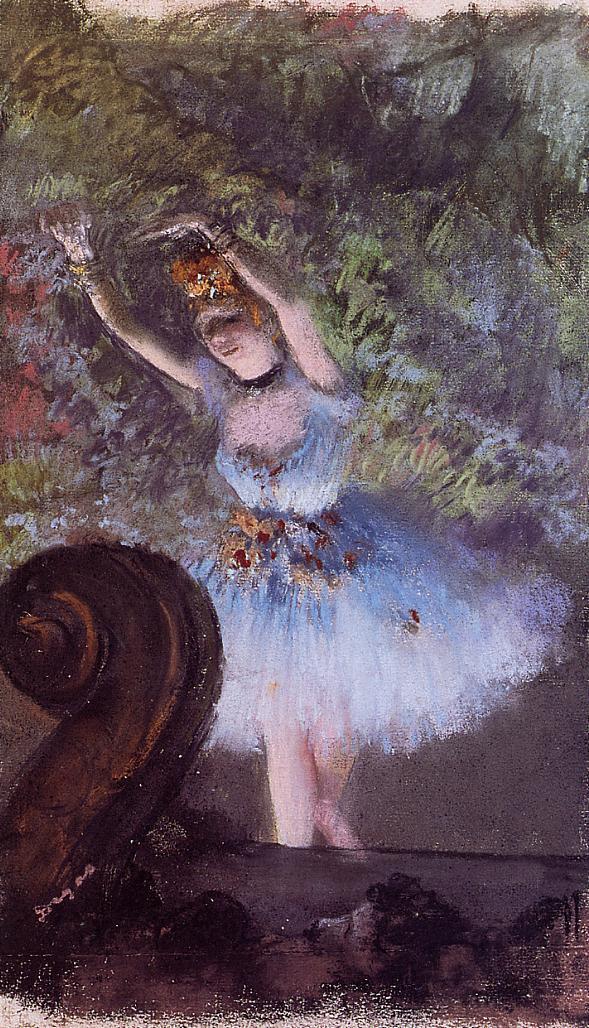 Dancer 1877-1878 | Edgar Degas | Oil Painting