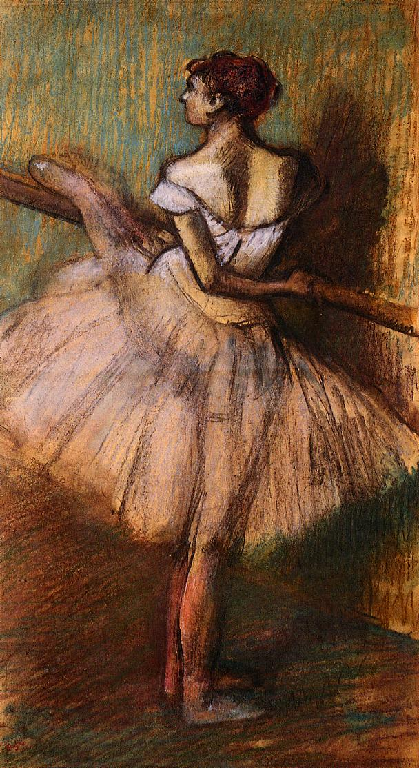 Dancer at the Barre 1884-1888 | Edgar Degas | Oil Painting