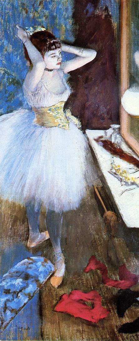 Dancer in Her Dressing Room 1879 | Edgar Degas | Oil Painting