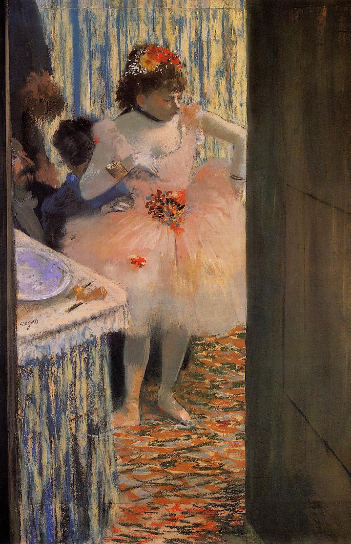 Dancer in Her Dressing Room 1880 | Edgar Degas | Oil Painting