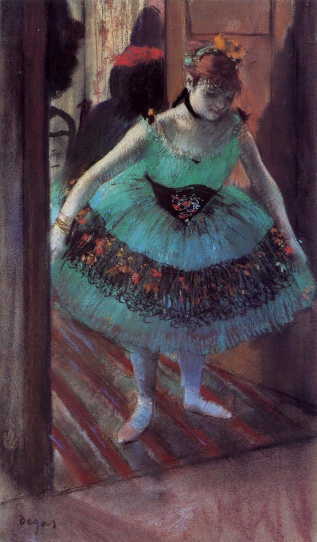Dancer Leaving Her Dressing Room 1879 | Edgar Degas | Oil Painting