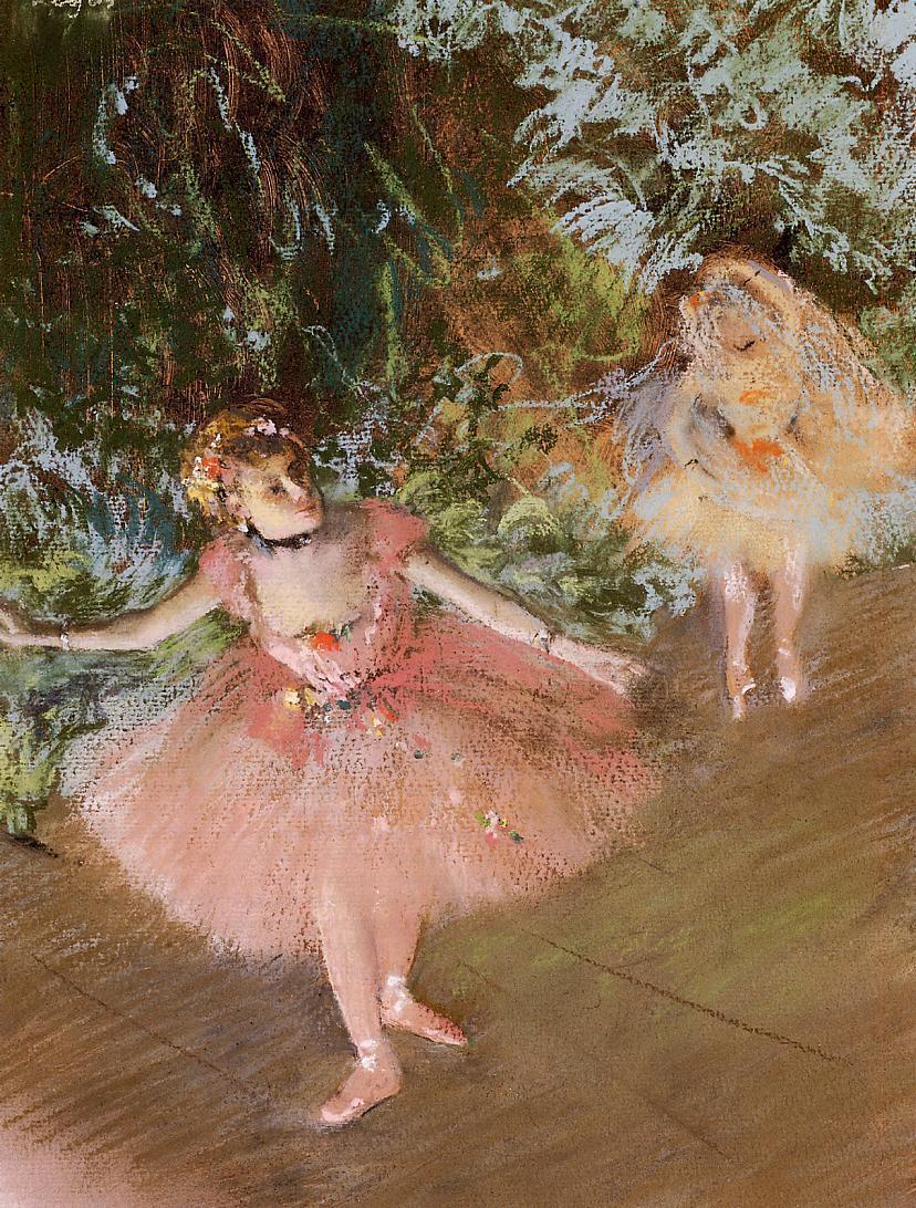 Dancer on Stage 1878-1880 | Edgar Degas | Oil Painting