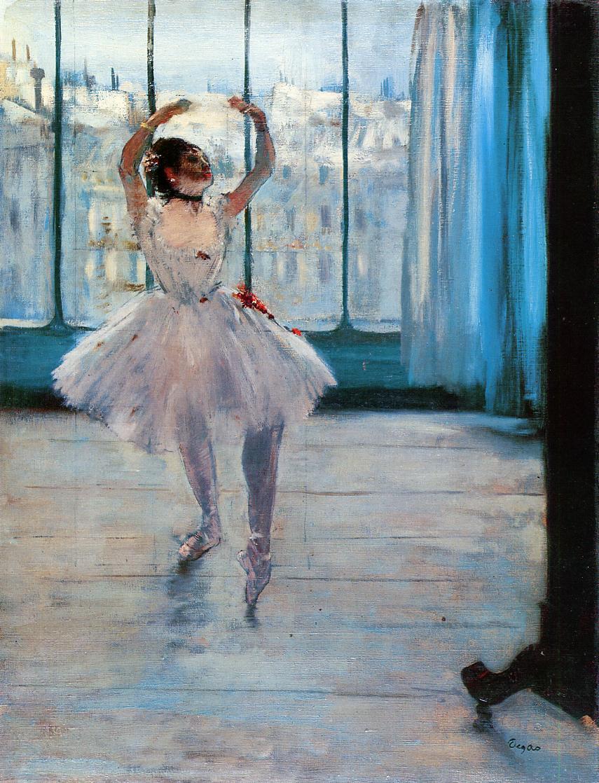 Dancer Posing 1878 | Edgar Degas | Oil Painting