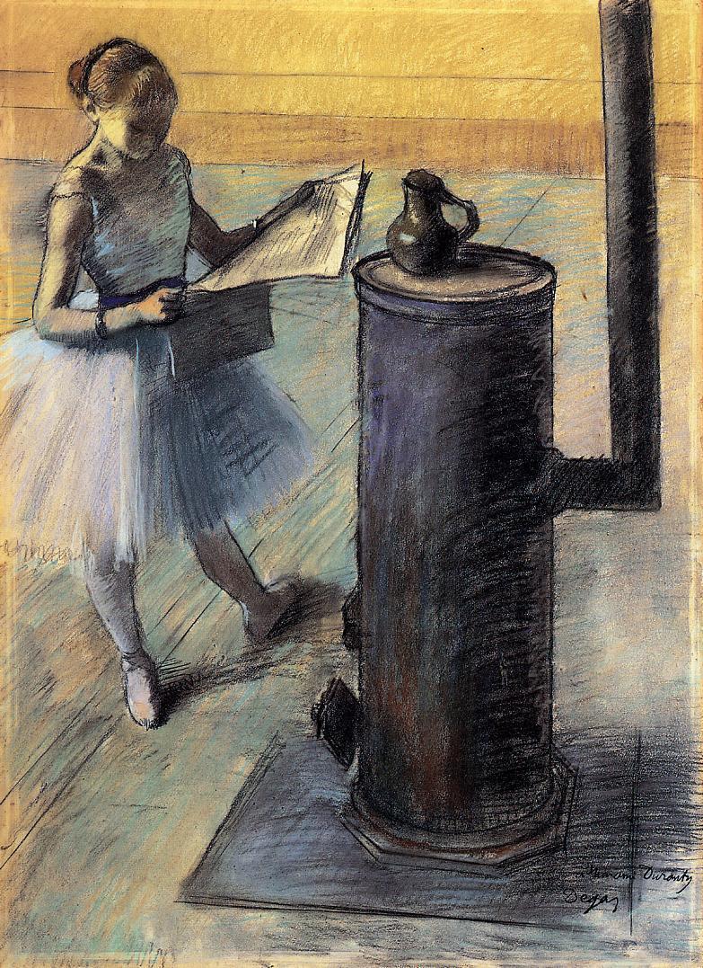 Dancer Resting 1879-1880 | Edgar Degas | Oil Painting