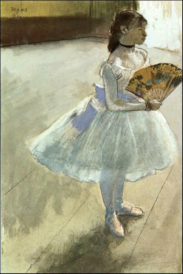 Dancer with a Fan 1879 | Edgar Degas | Oil Painting
