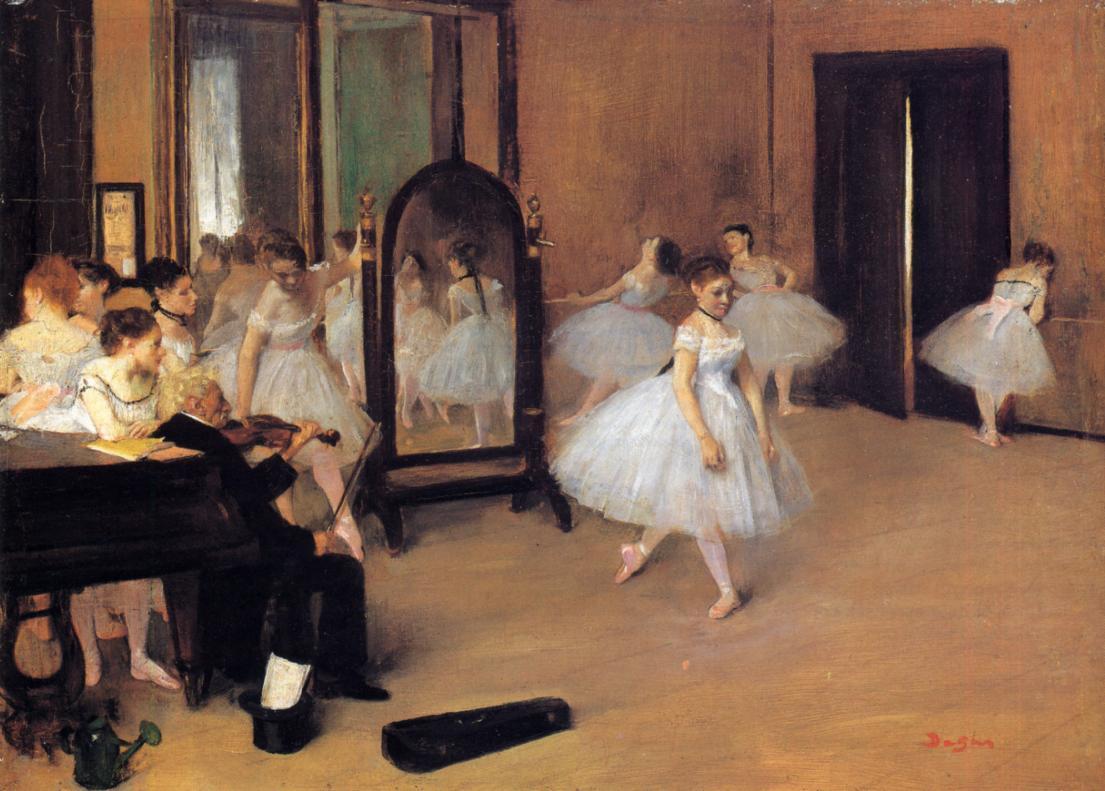 Dance Class 1871 | Edgar Degas | Oil Painting