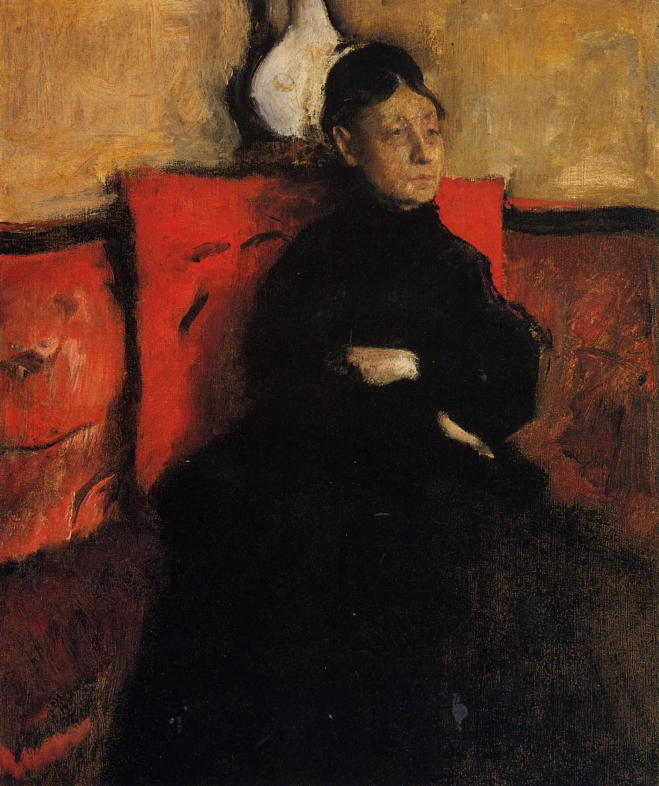Duchesse de Montejasi-Cicerale 1868 | Edgar Degas | Oil Painting