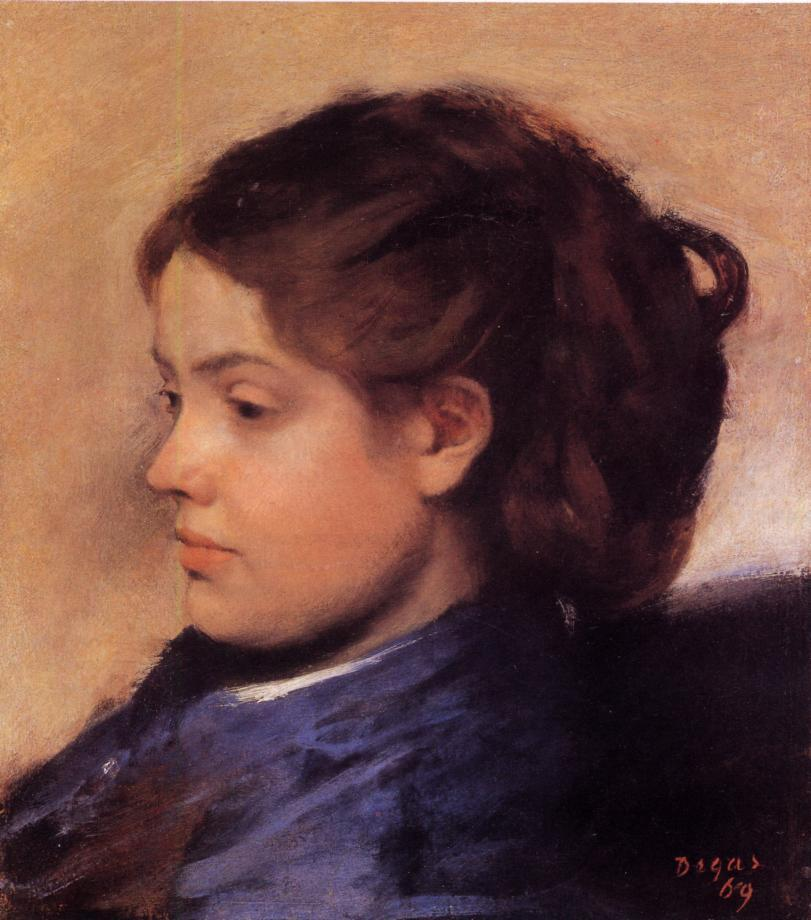 Emma Dobigny 1869 | Edgar Degas | Oil Painting