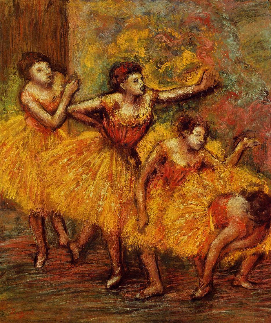 Four Dancers 1903 | Edgar Degas | Oil Painting