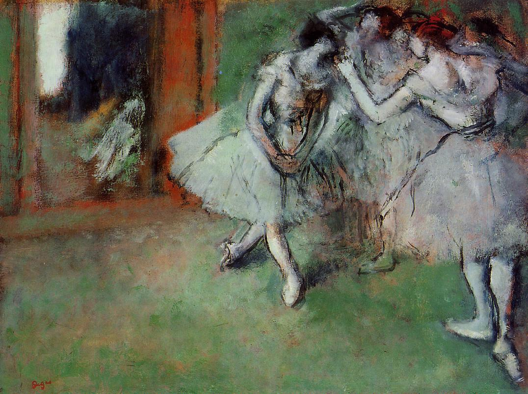 Group of Dancers 1900-1905 | Edgar Degas | Oil Painting