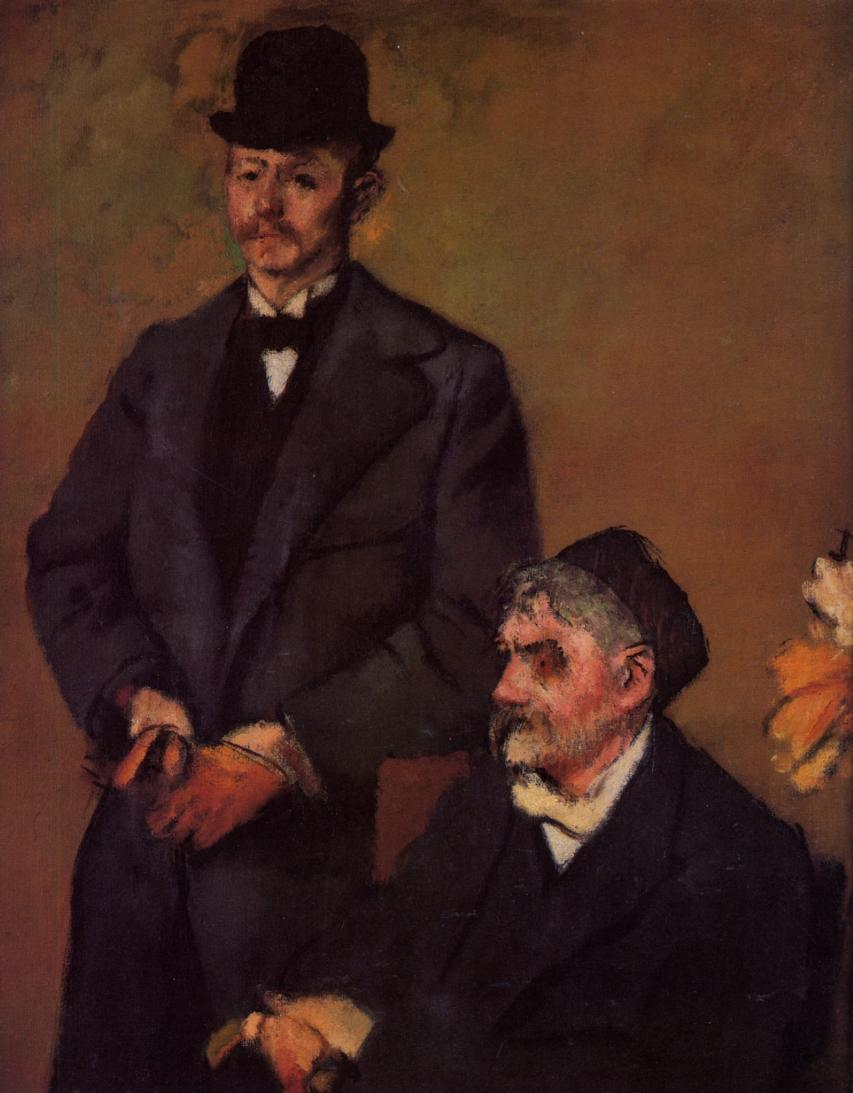 Henri Rouart and His Son Alexis 1895-1898 | Edgar Degas | Oil Painting