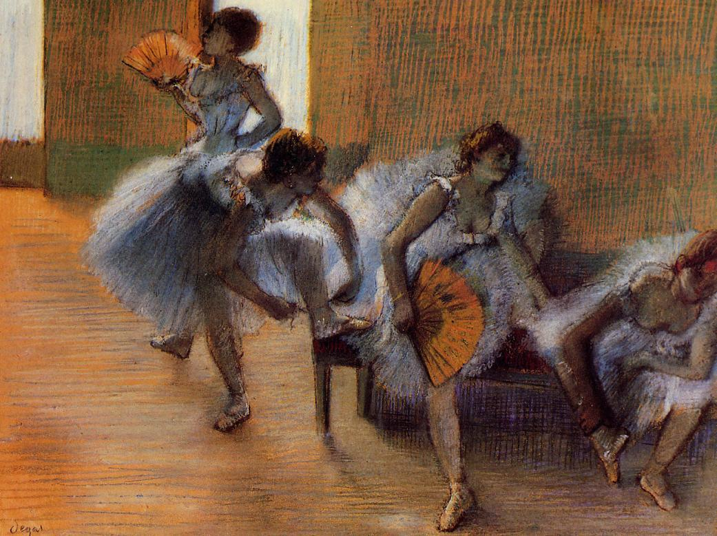 In the Dance Studio 1897 | Edgar Degas | Oil Painting
