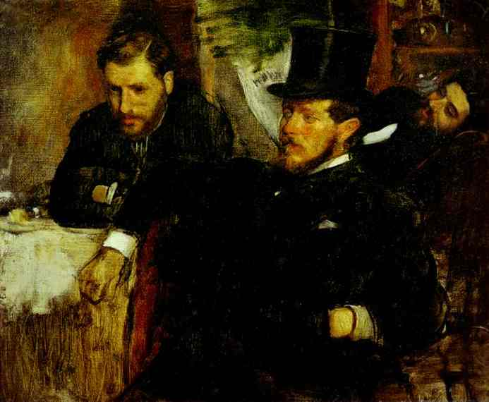 Jeantaud Linet and Laine2 1871 | Edgar Degas | Oil Painting