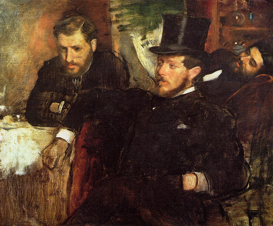 Jeantaud Linet and Laine 1871 | Edgar Degas | Oil Painting