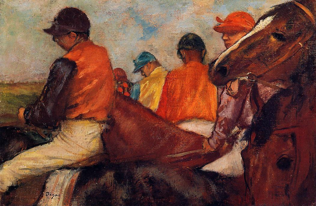 Jockeys 1882 | Edgar Degas | Oil Painting