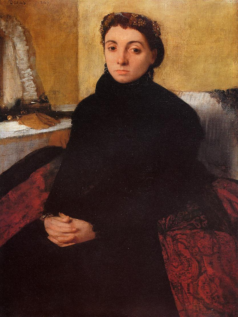 Josephine Gaujean 1868 | Edgar Degas | Oil Painting