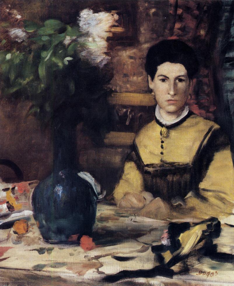 Madame de Rutte 1875 | Edgar Degas | Oil Painting