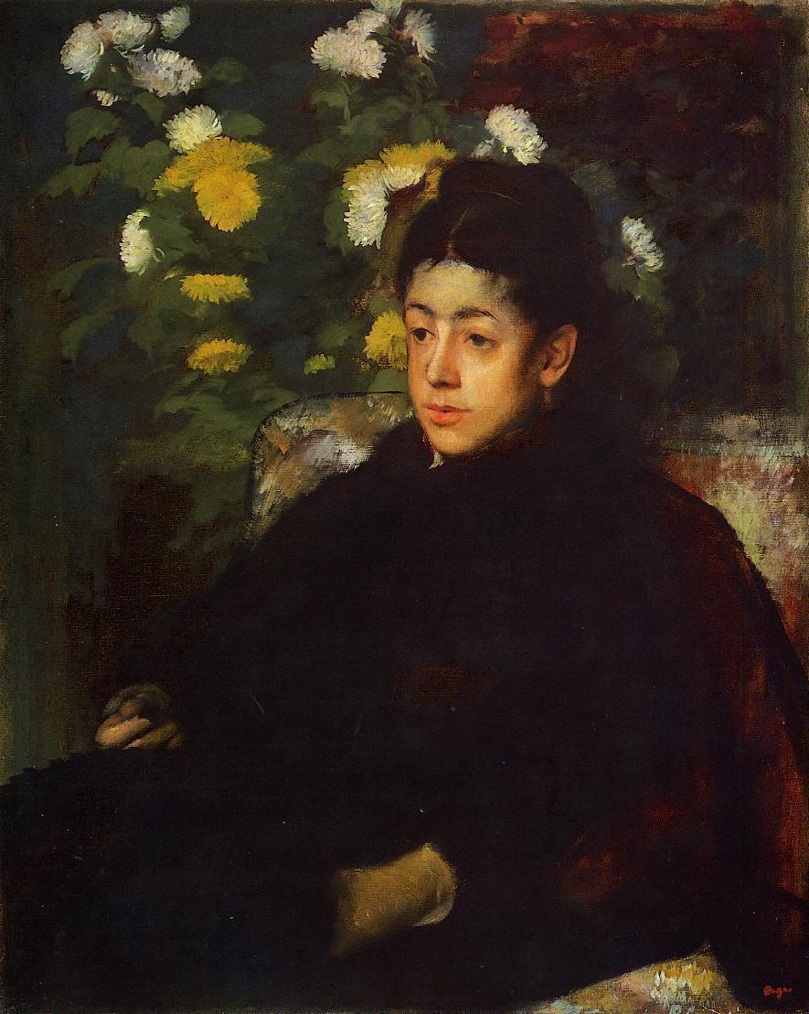 Mademoiselle2 Malo 1877 | Edgar Degas | Oil Painting