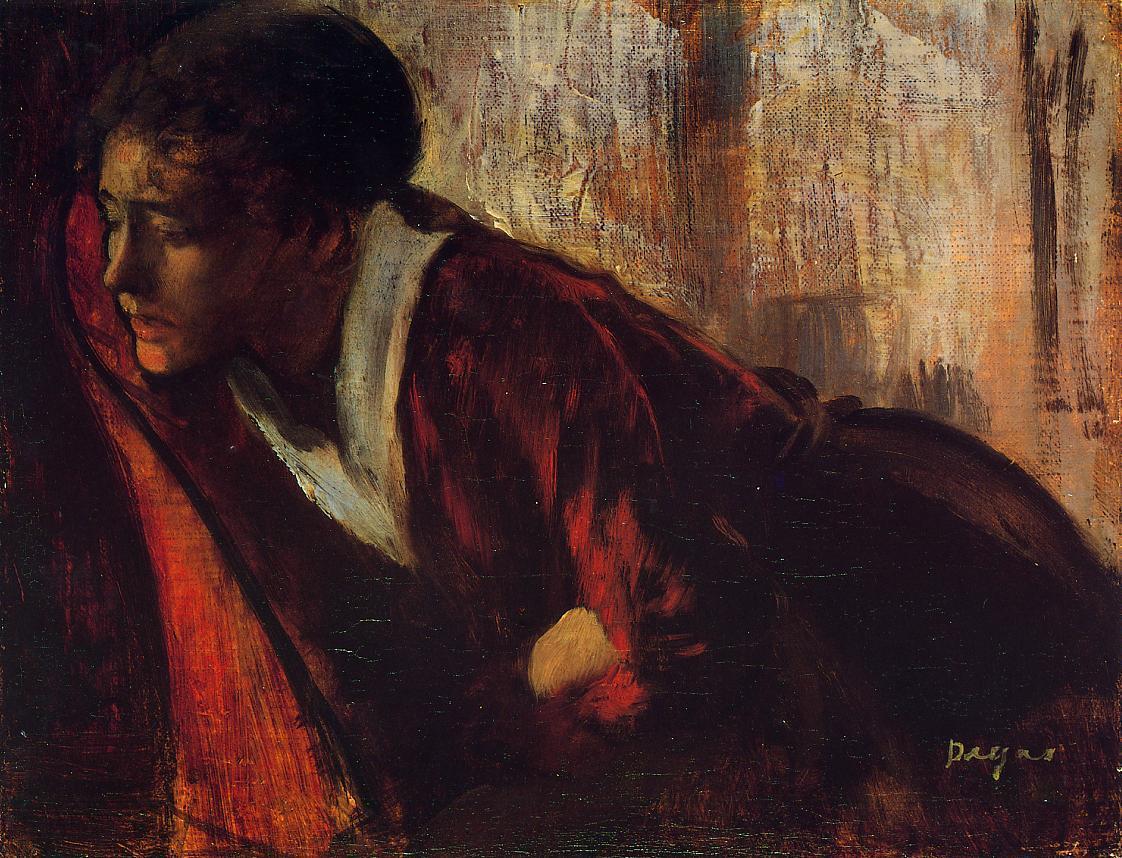 Melancholy 1874 | Edgar Degas | Oil Painting