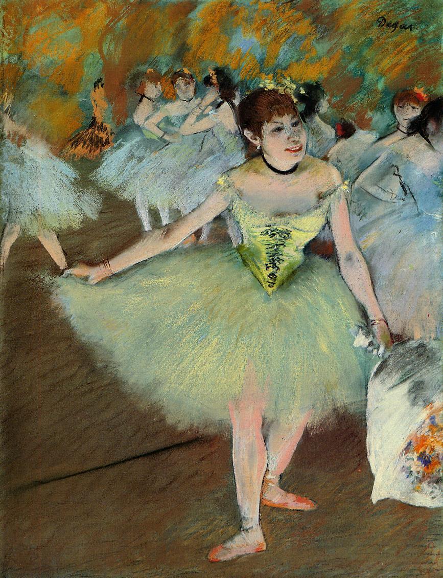 On Stage 1879-1881 | Edgar Degas | Oil Painting