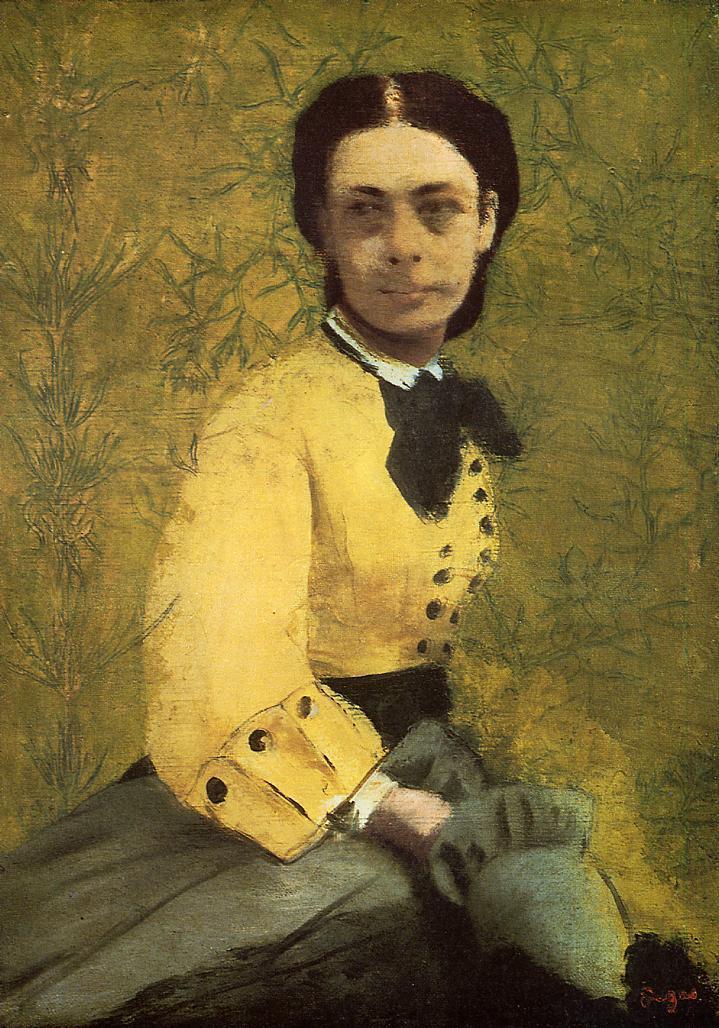 Princess Pauline de Metternich 1860 | Edgar Degas | Oil Painting