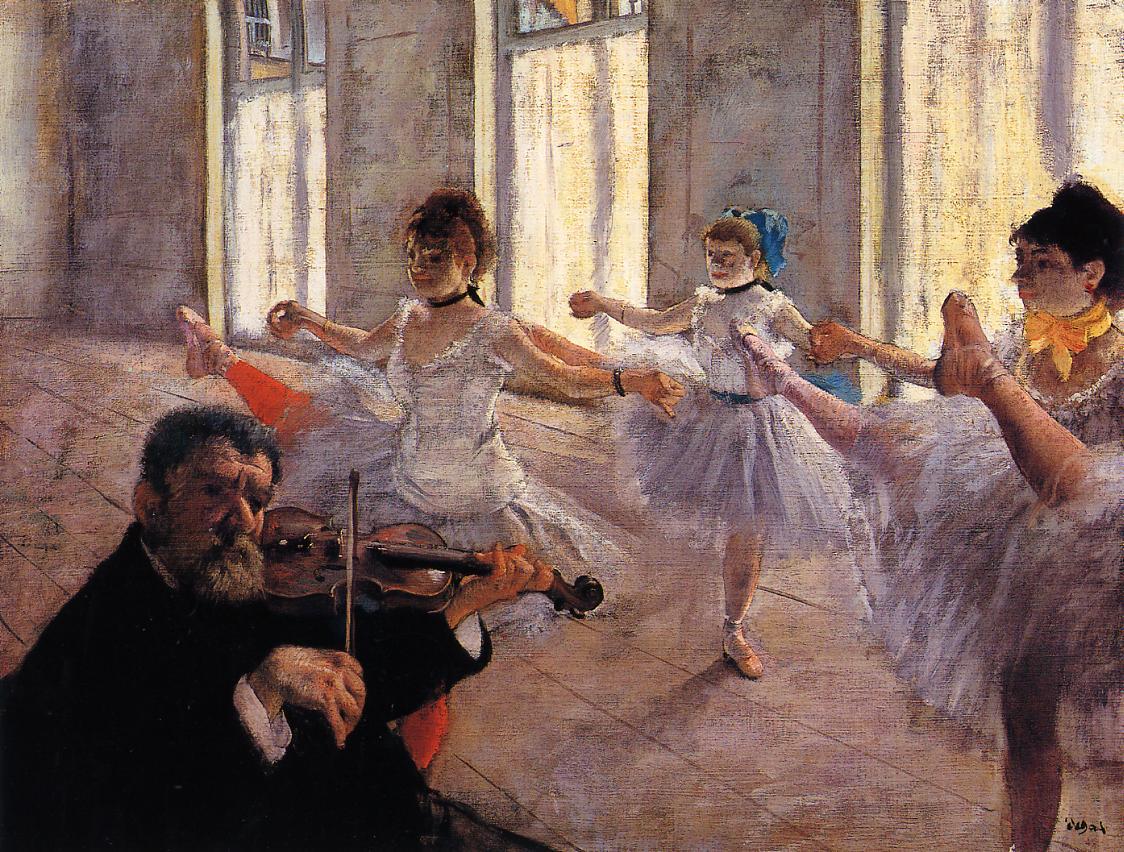 Rehearsal 1879 | Edgar Degas | Oil Painting