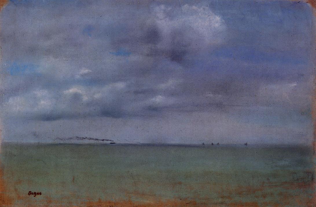 Seascape 1869 | Edgar Degas | Oil Painting