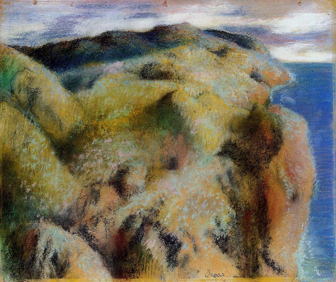 Steep Coast 1892 | Edgar Degas | Oil Painting