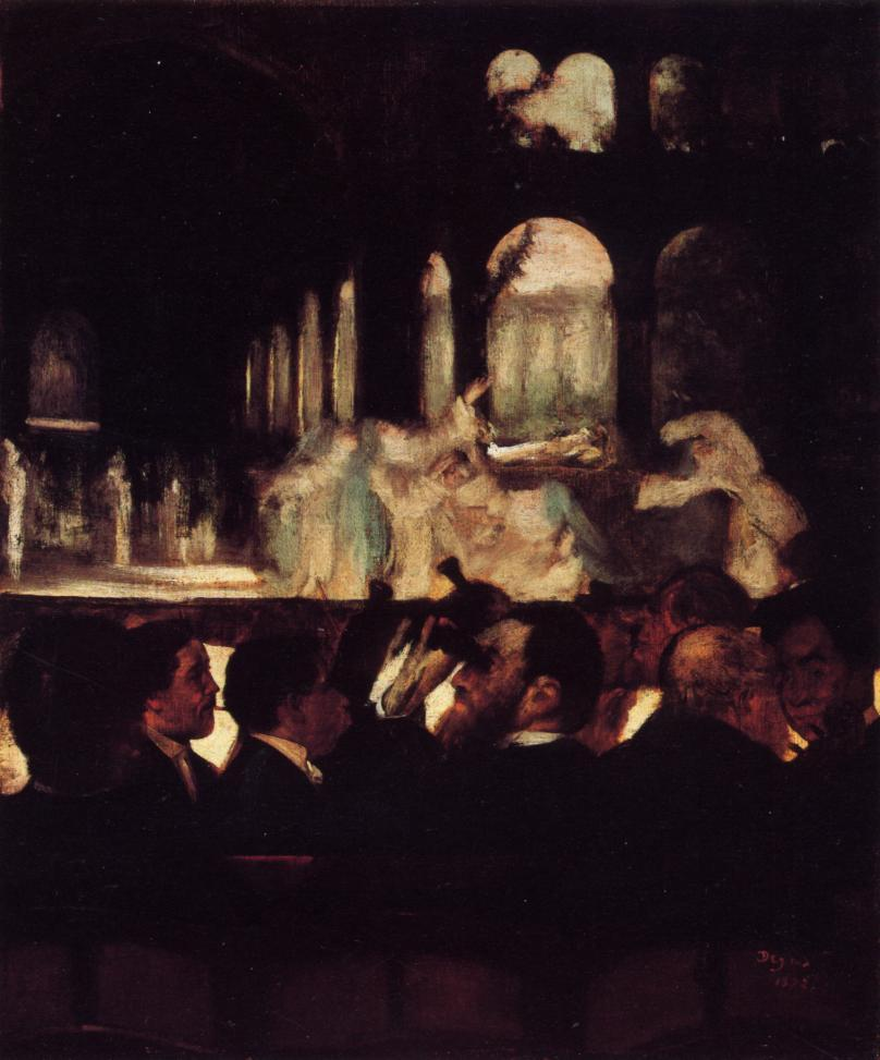 The Ballet from Robert la Diable 1871 | Edgar Degas | Oil Painting