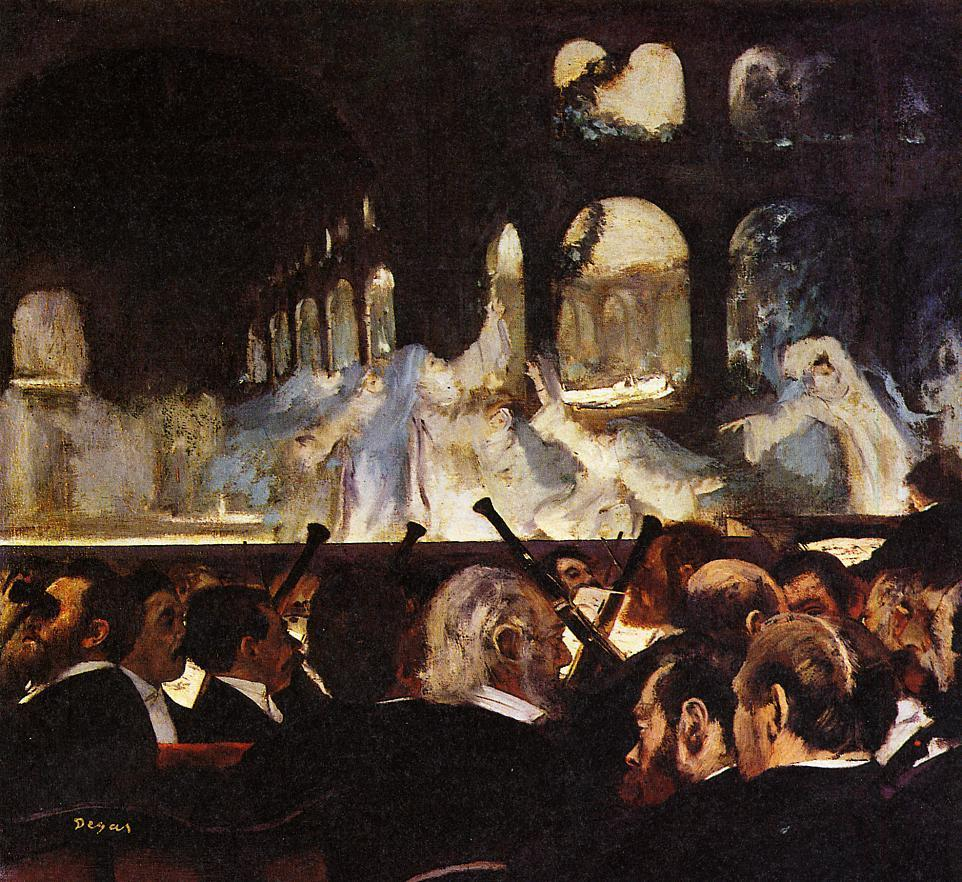 The Ballet Scene from Robert la Diable 1876 | Edgar Degas | Oil Painting