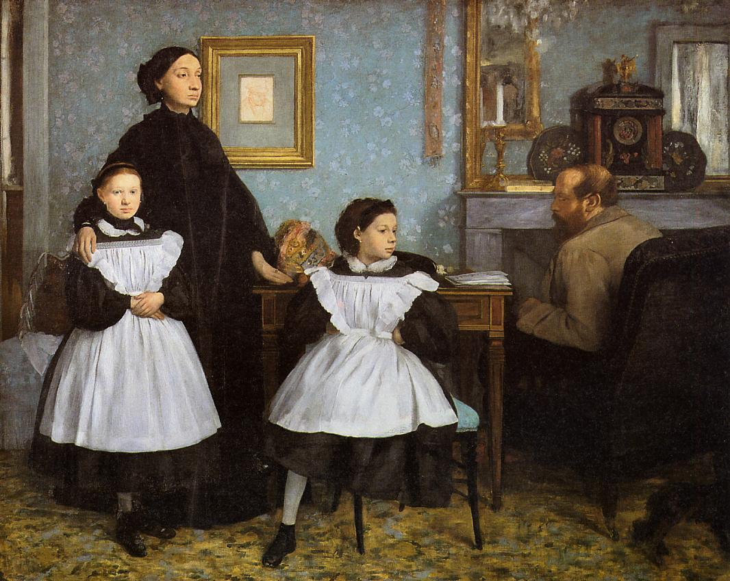 The Bellelli Family 1860-1862 | Edgar Degas | Oil Painting