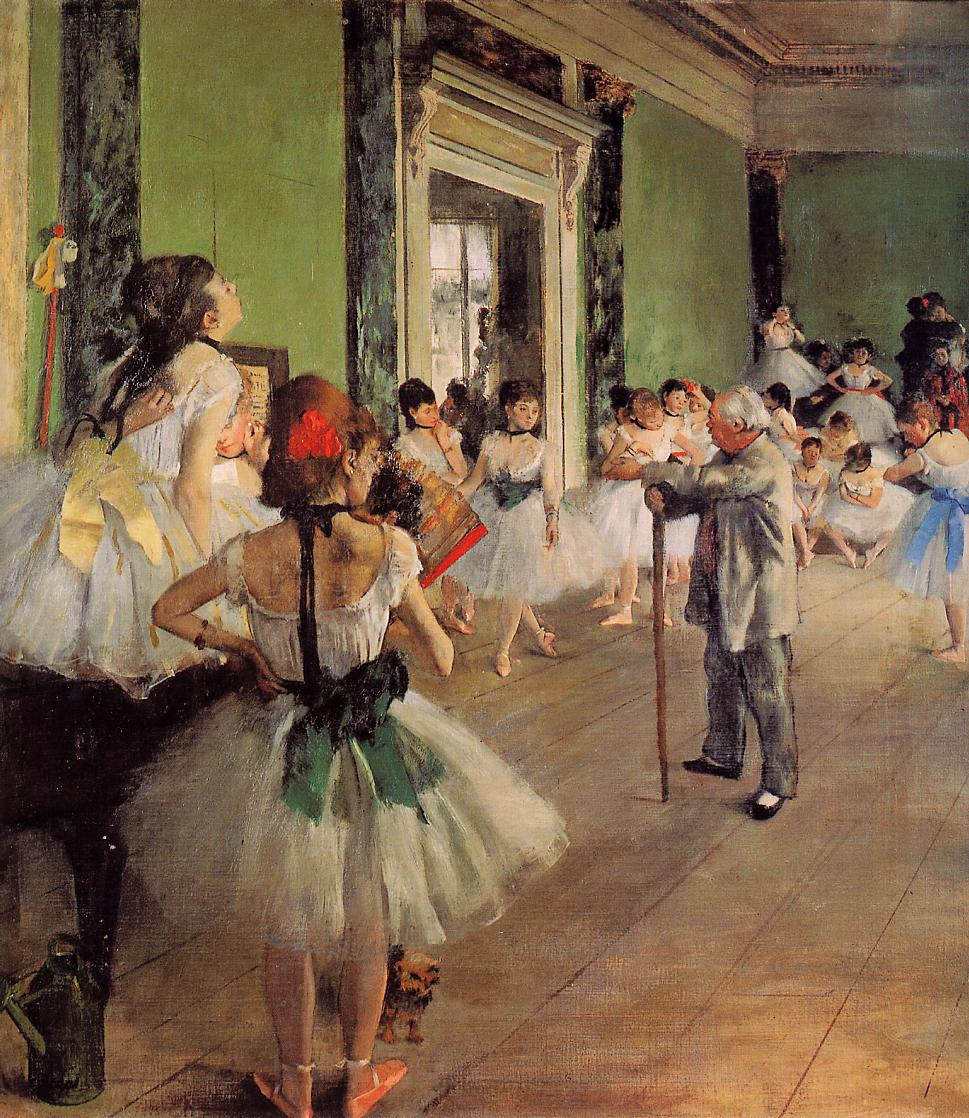 The Dance Class 1873-1878 | Edgar Degas | Oil Painting