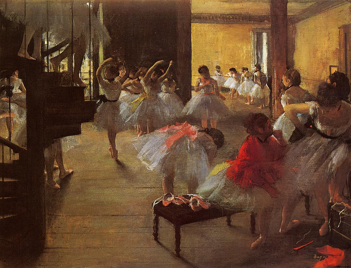 The Dance Class 1873 | Edgar Degas | Oil Painting