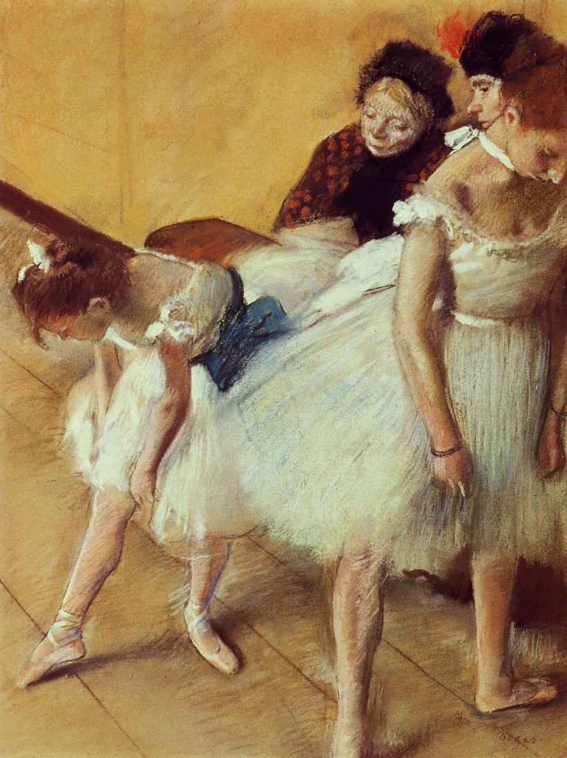 The Dancing Examination 1880 | Edgar Degas | Oil Painting
