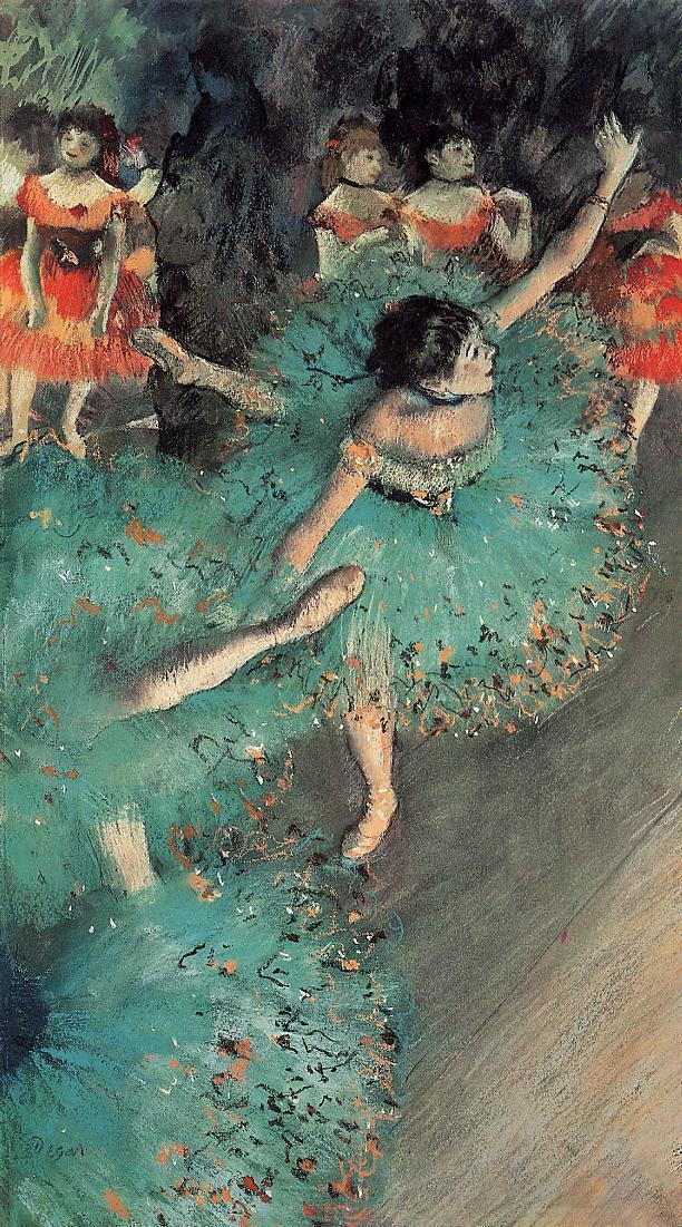 The Green Dancer 1880 | Edgar Degas | Oil Painting
