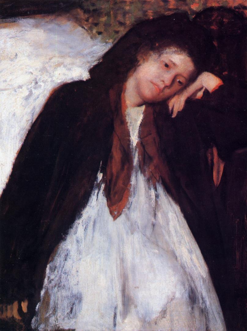 The Invalid 1872-1873 | Edgar Degas | Oil Painting