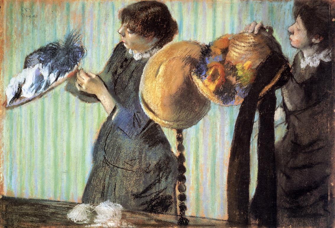The Little Milliners 1882 | Edgar Degas | Oil Painting
