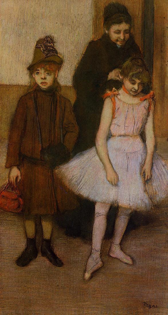 The Mante Family2 1889 | Edgar Degas | Oil Painting