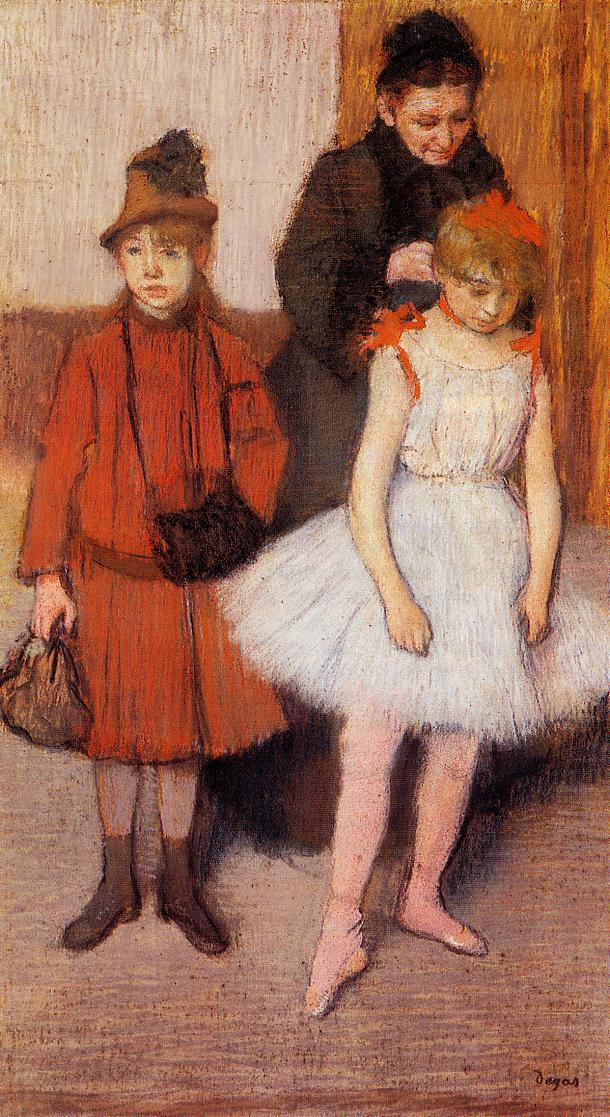 The Mante Family 1889 | Edgar Degas | Oil Painting