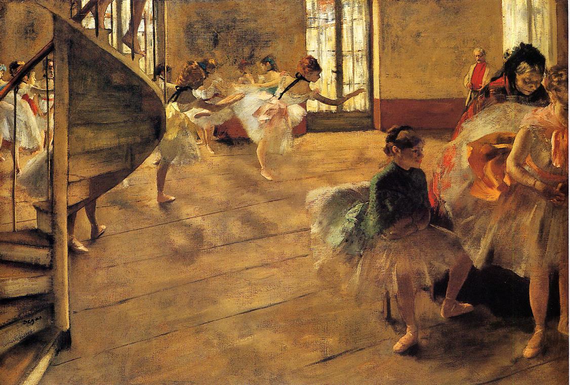The Rehearsal 1873-1874 | Edgar Degas | Oil Painting